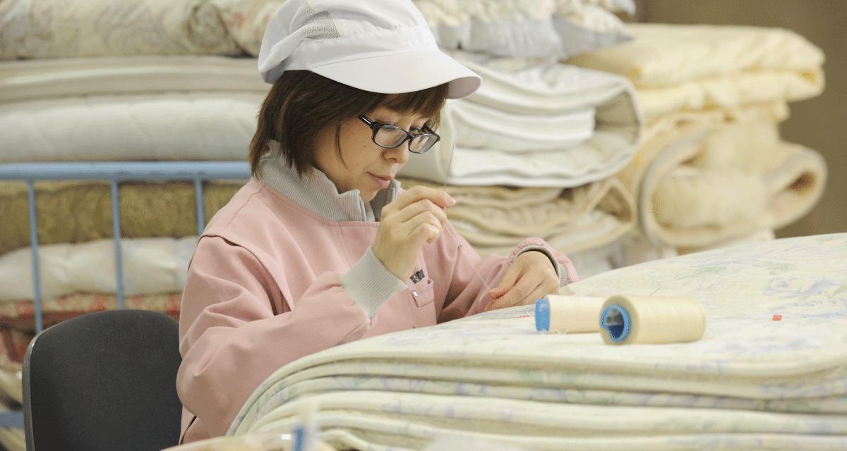 お布団の補修もオプションでご用意しています