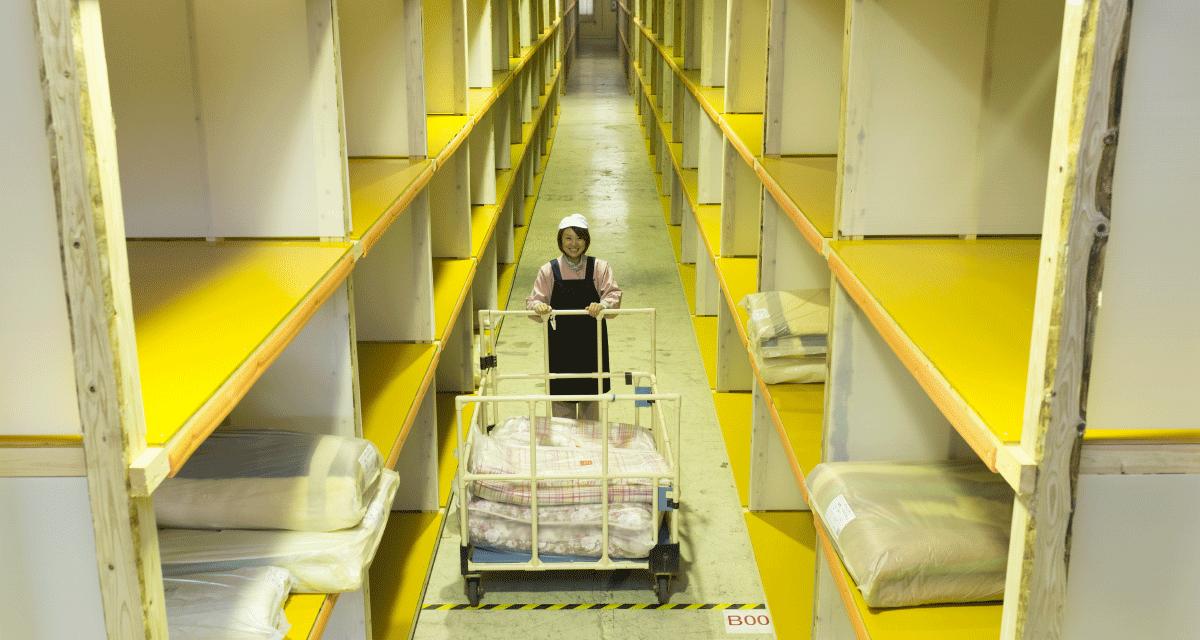 ザブザブの布団クリーニングは保管サービスもございます