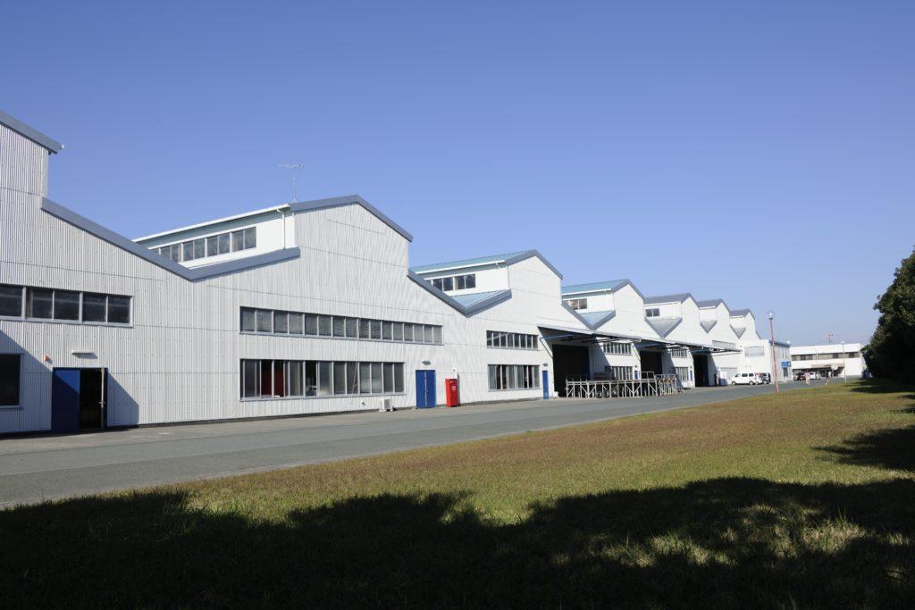 ザブザブの布団クリーニング工場外観